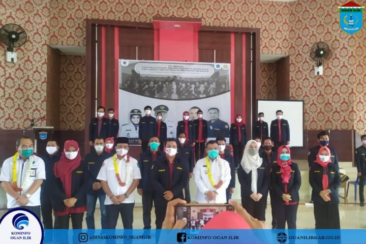 Pelantikan Karang Taruna Kabupaten Ogan Ilir