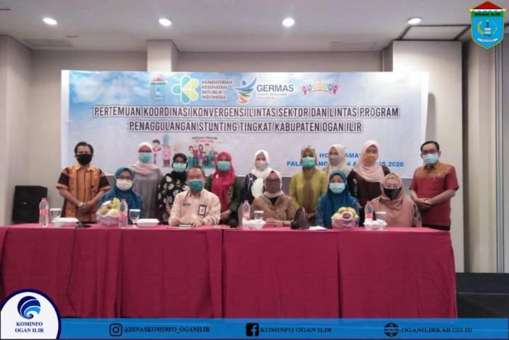 Pertemuan Koordinasi Konvergensi Lintas Sektor Lintas Program Penanggulangan Stunting Tingkat Kab OI