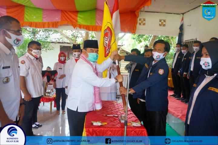 Pelantikan Pengurus Karang Taruna Kecamatan dan Desa se-Kec. Rambang Kuang