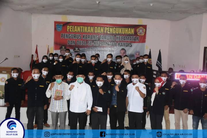 Pelantikan Pengurus Karang Taruna Kecamatan dan Desa Se-Kecamatan Kandis