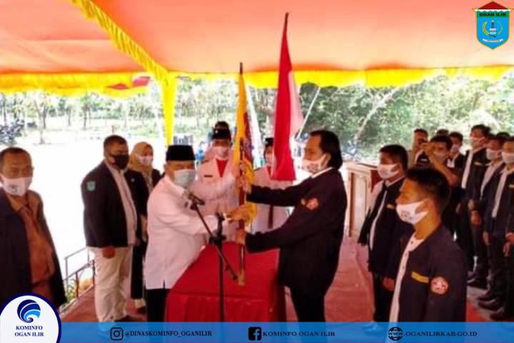 Bupati OI Lantik Pengurus Karang Taruna Se-Kecamatan Payaraman dan Muara Kuang