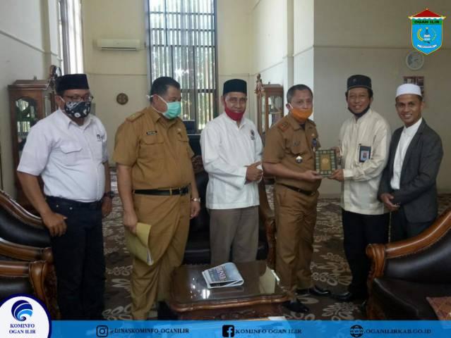 Pemkab OI Sambut Baik Audiensi Pimpinan Daerah Dewan Masjid Indonesia (PD DMI) Sumsel