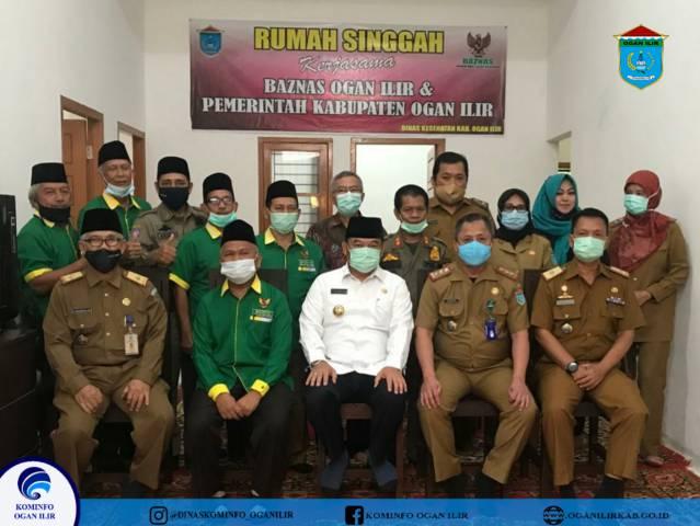 Bupati OI Resmikan Rumah Singgah Kabupaten Ogan Ilir di Palembang