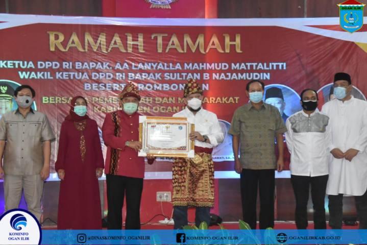 Kunjungan Kerja Ketua DPD RI Ir. AA Lanyalla Mahmud Mattalitti  dan Wakil Ketua DPD RI Sultan B Najamudin