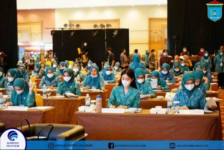 Rapat Koordinasi Tim Penggerak PKK Se-Sumatera Selatan