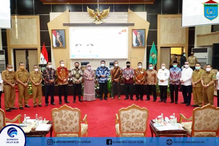 Wakil Bupati OI Hadiri Pertemuan Dengan Gubernur Dan BAKN DPR RI