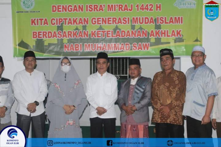 Hadiri Peringatan Isra' Mi'raj, Wabup H.Ardani Ajak Warga Jalin Silaturahmi Tingkatkan Ibadah