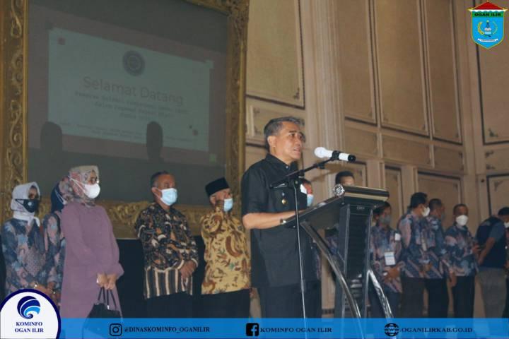 Wakil Bupati  Ogan Ilir Hadiri Dan Membuka Ujian SKD CPNS 2021